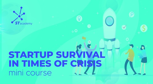 Startup survival in time of crises