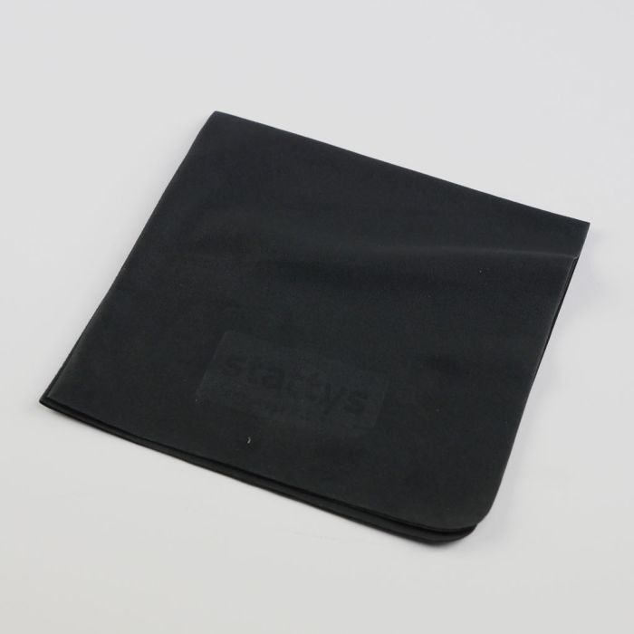 Microfiber cleaning cloth black