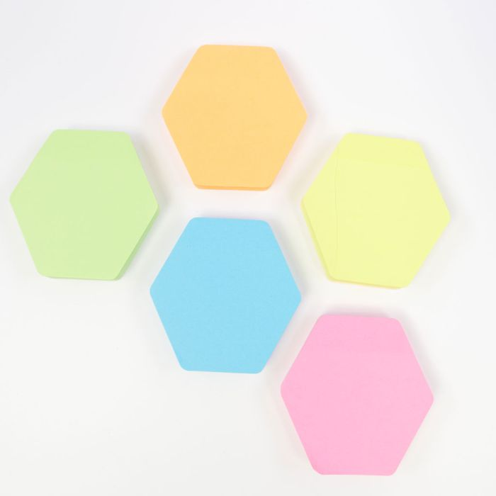 Sticky Notes Hexacon 5 colors