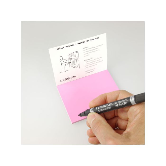 Stattys Notes S,pink