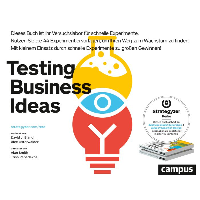 Testing Business Ideas, book, German