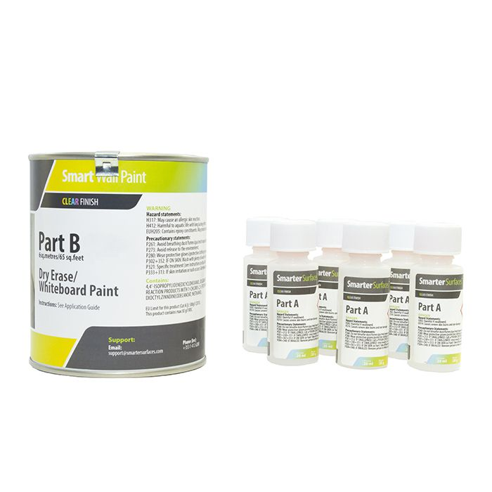 Whiteboard Paint 6m² - Clear