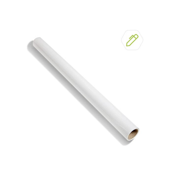 Whiteboard Wallcovering 10m² - White