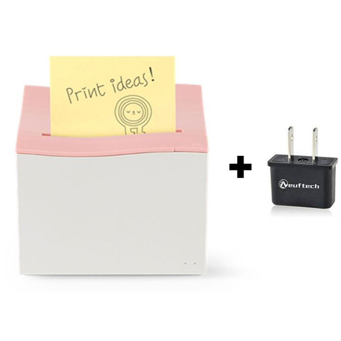 Sticky Notes Printer inlcuding Power plus adapter DE – US