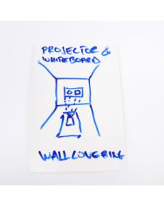 Smart Projector & Whiteboard Wallcovering Sample A6
