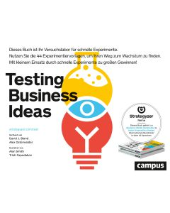 Testing business Ideas, Buch, deutsch
