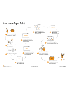 Instruction Paper Point download