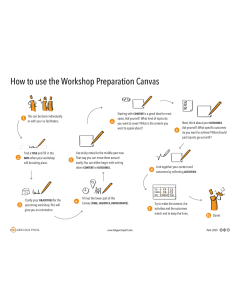 Instruction Workshop Preparation Canvas download