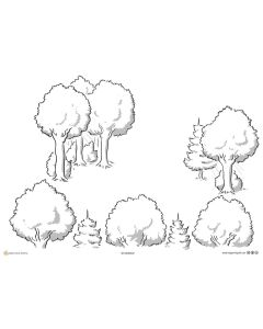 Forest Metaphor A3 Bundle