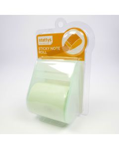 Sticky Notes Roll Haftnotizen-Rolle, Post-it, Büro, Brainstorming, Haftnotizen, Präsentation, stattys Notizen, Whiteboard, Organisation, Organisation, Ideen, fünf Farben, Planung, grün, orange, rosa, blau weiß