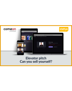 Elevator pitch - Can you sell yourself?