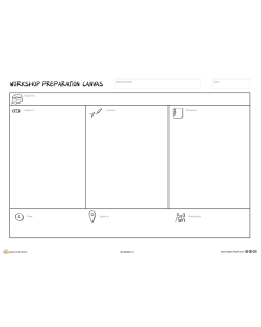 Workshop Preparation Canvas (A3)