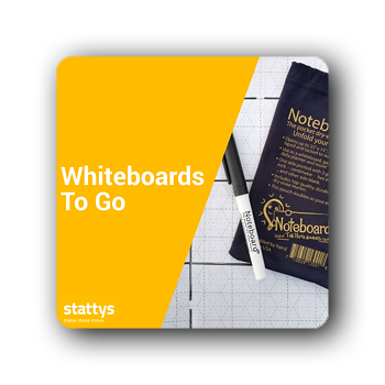 Whiteboards to go
